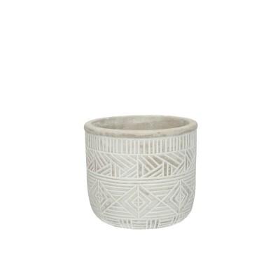 Burolo Pot D12.5*11Cm Grey