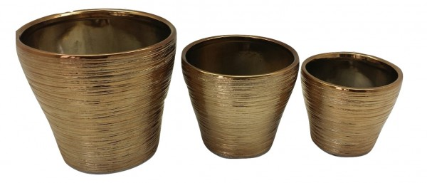 Pot Sirolo Rond Koper D19H17 Set 3