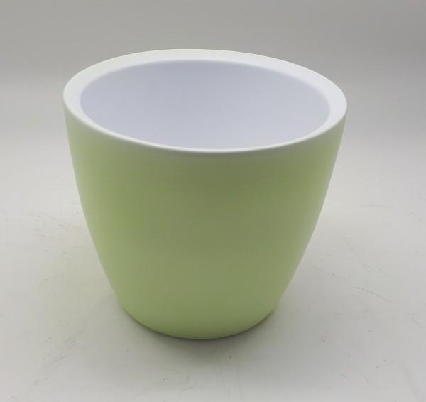 Pot Nola Round Matt Green D12 H9,5