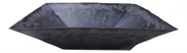 Melamine Viereck Schale Grau L30H7,5