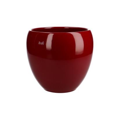 Keramiek pot Ellen d13*15cm rood