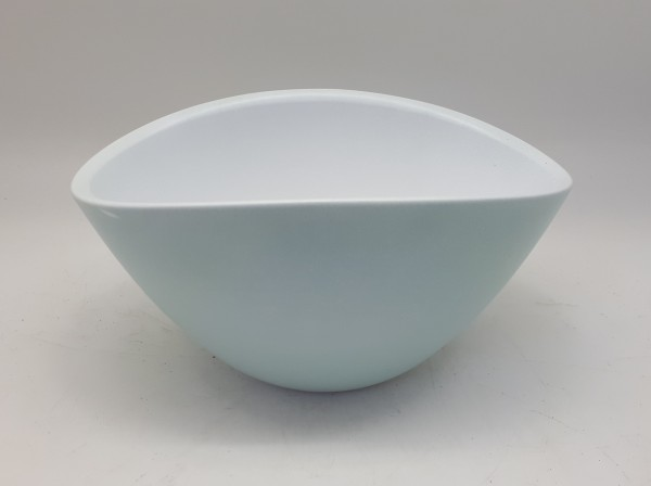 Bowl Nola Oval Matt Blue L21W14H11