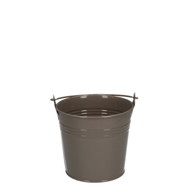 Zinc bucket d10*09cm sand