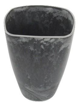 Melamine Topf Grau L16W9H20