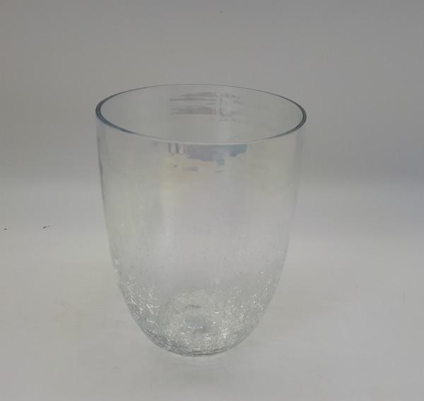 Vase Crack Clear D10H10
