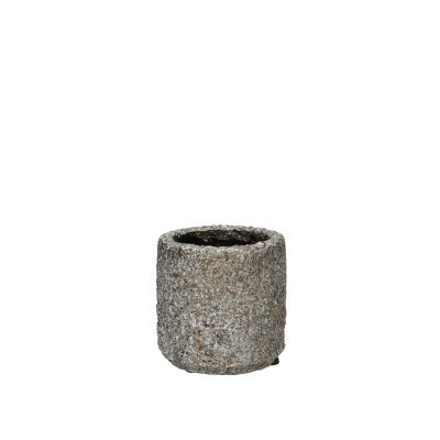 Ceramic Pot Ispra D8*8cm.D.Grey