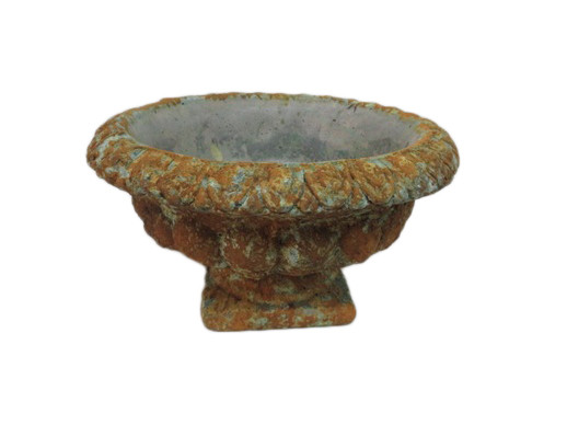 Cement Urn Busachi Rond Rustic D24H14