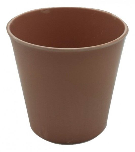 Melamine Pot Round Peach D13H13