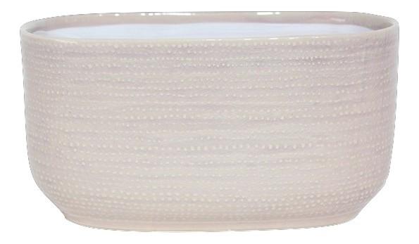 Keramik Pflanzer Vieste Oval Rosa L19,5W10H11