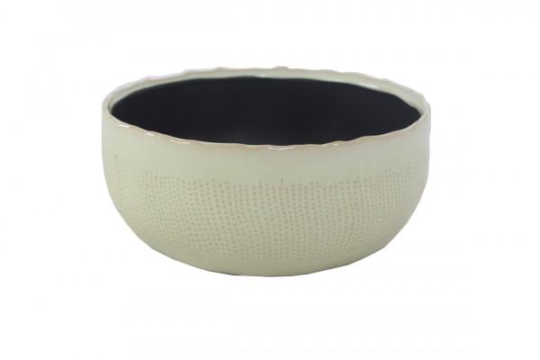 Ceramic Planter Amalfi Round Green D20,5H9