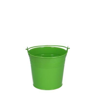 Zink Emmer d10*09cm groen