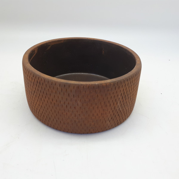 Cement Planter Sapri Round Rusty D13,5H7