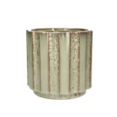 Ceramic.Pot Mirto D16.5*15.5cm.L.Green