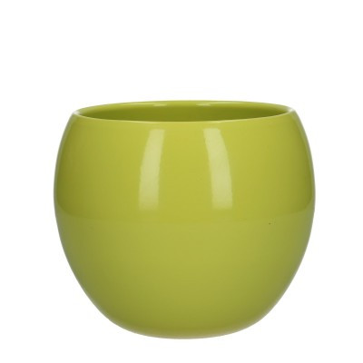 Ball pot d12.5/15*13cm lemon