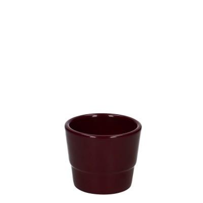 Keramiek Pot Kim d07*06cm aub