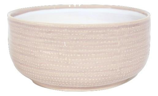 Ceramic Planter Vieste Round Pink D19,5H9